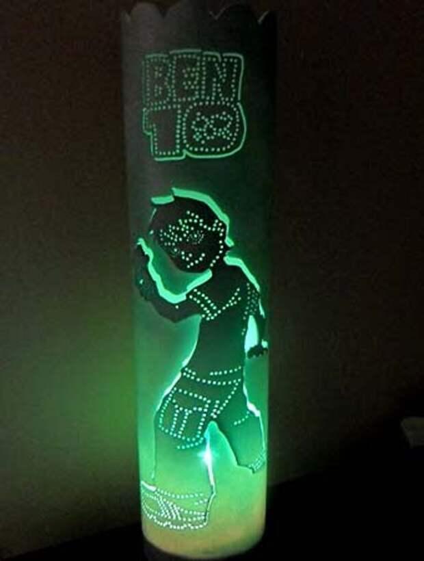 детский светильник для мальчика своими руками