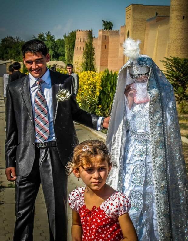Таджикская свадьба.
