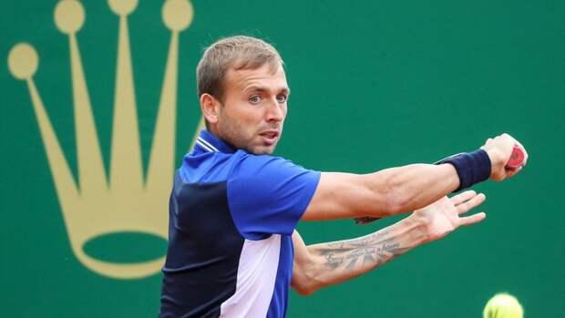 Первая ракетка мира Джокович уступил Эвансу в1/8 финала турнира вМонте-Карло