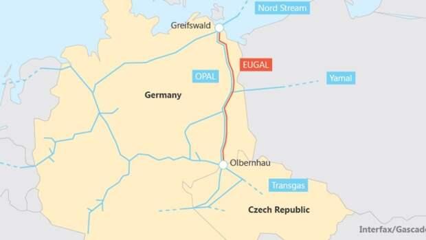 Частный иск против строительства газопровода Eugal отклонен