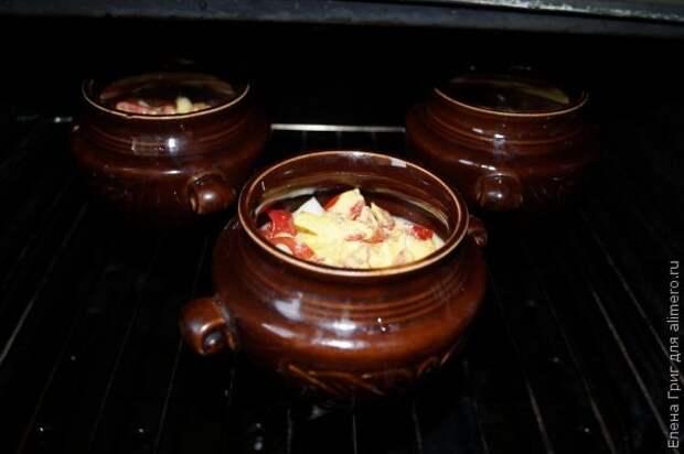 Жаркое с рыбой в порционных горшочках: даже суховатая рыба станет сочной