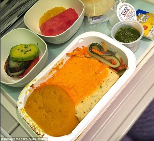 Какая она, еда в самолетах?
