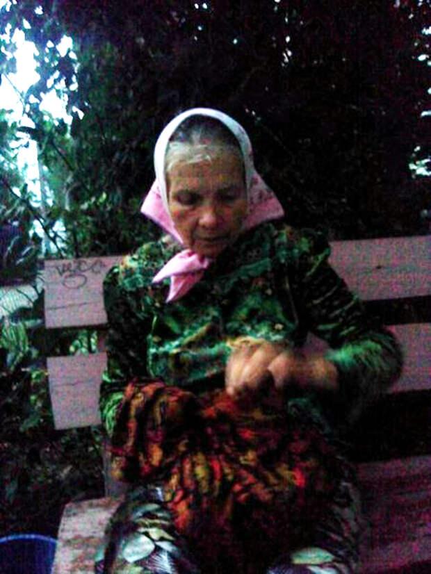 В Севастополе потерялась бабушка - она очень хочет домой (фото)