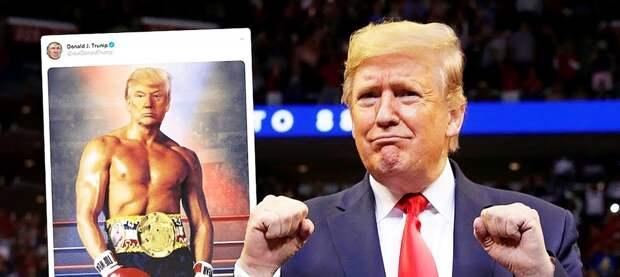 «В течение первых нескольких секунд»… Дональд Трамп - о боксерском бое с Джо Байденом