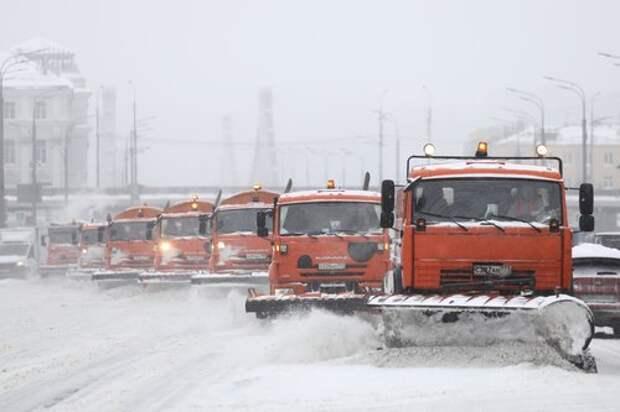 В Дмитровском районе пройдет противогололедная обработка