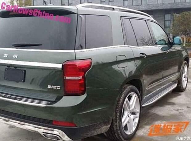 Beijing BJ90 SUV: как Мерседес, но с большим телевизором