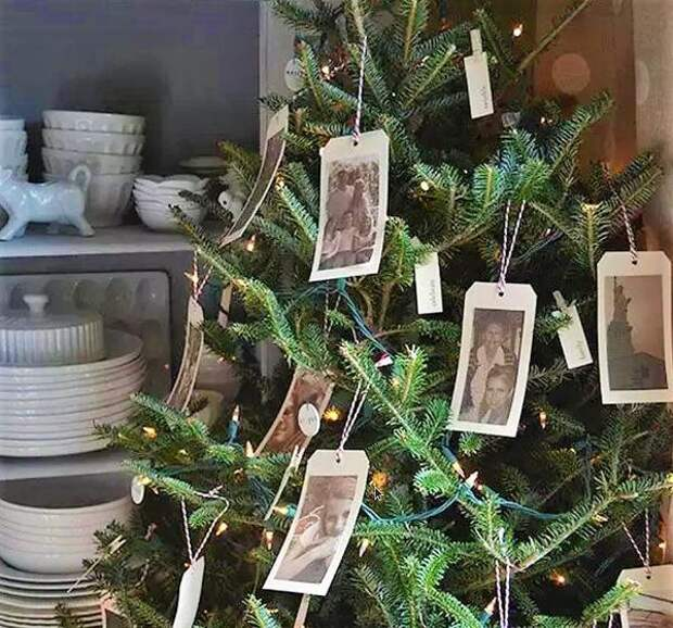 Украсьте новогоднюю ёлку своей фамильной историей. Фото с сайта интерьерклуб.рф
