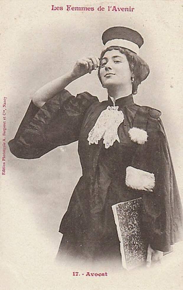 Женщины будущего глазами фотографа 1902 года