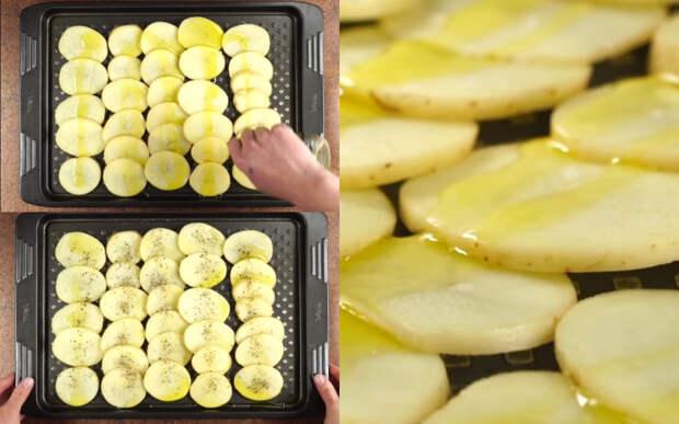 рецепт запеченного картофеля с сыром