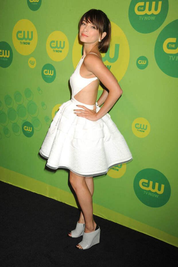 Кристин Кройк на презентации «CW Network 2013» в Нью-Йорке