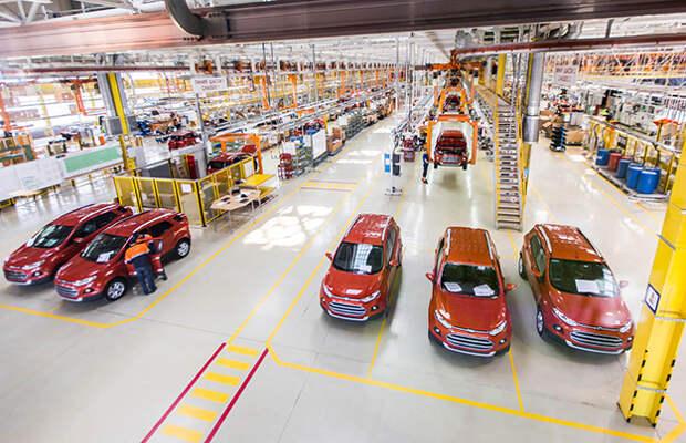 Ford снабдил EcoSport российским мотором