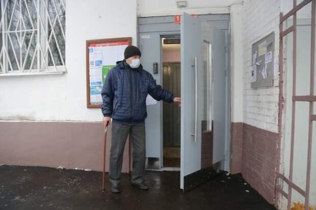 Сейчас дверь находится в исправном состоянии / Фото: Артур Новосильцев