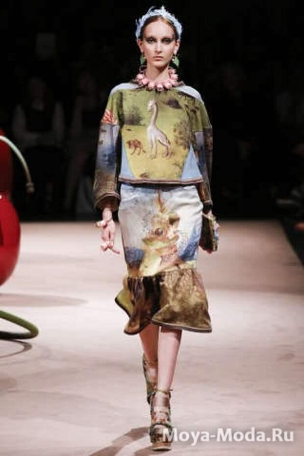 Модные юбки весна-лето Undercover