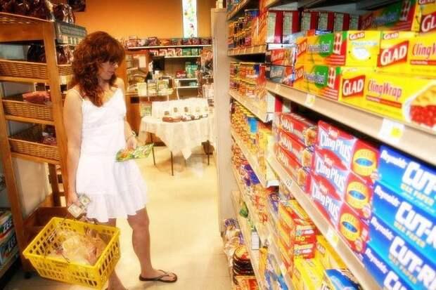 Стратегический выбор музыки продукты, супермаркет