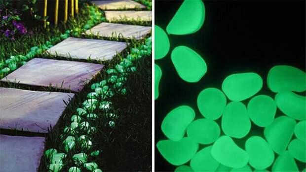 Подсветка в саду