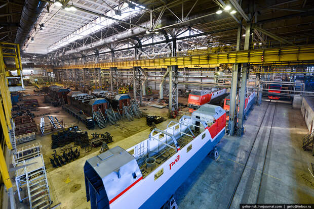 Как собирают электровозы. Завод «Уральские локомотивы»
