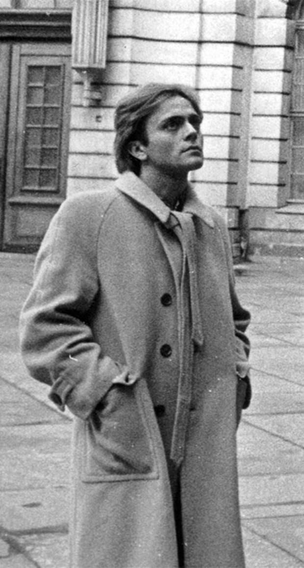 """Фотопробы Анастасии Вертинской и Андрея Харитонова """"Овод"""". 1978 год."""