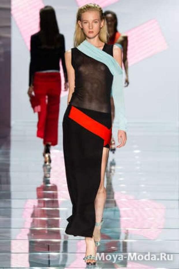 Модные юбки весна-лето 2015 Versace