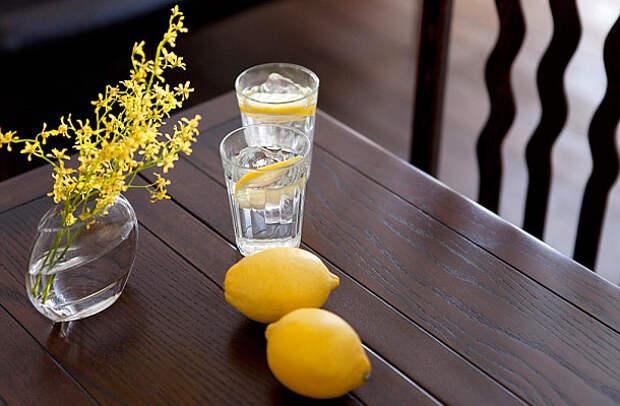 Польза утреннего стакана воды
