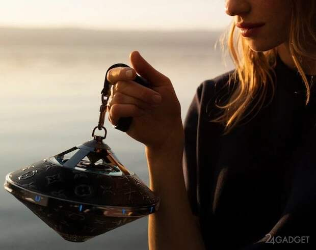 Колонка от Louis Vuitton в форме «летающей тарелки» по цене 2900$