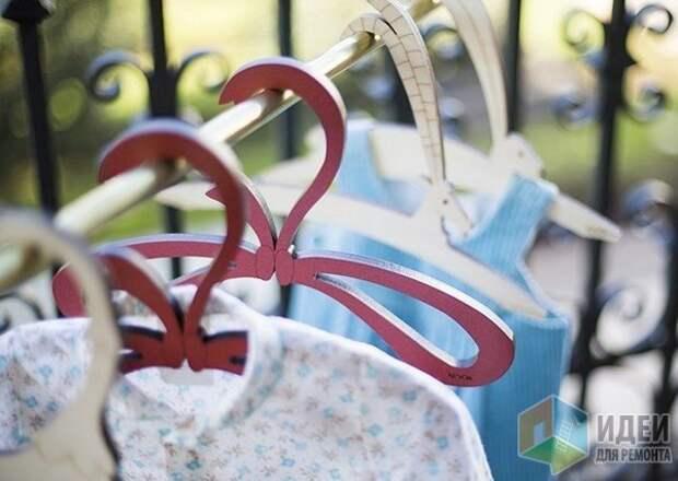Идеи для хранения одежды, удобные вешалки