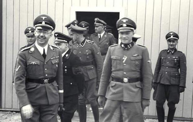 Рассекречены документы о работе нацистского генерала на Запад
