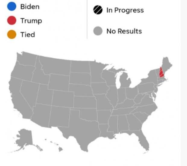 Карта с сайта USA Today