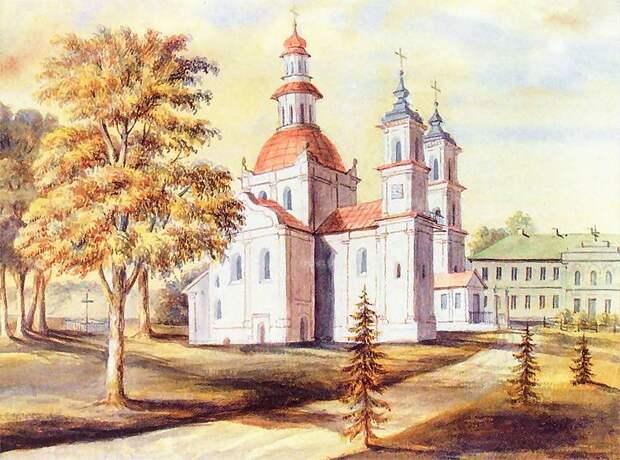 Слуцкий Свято-Троицкий монастырь. Н. Орда. Вторая пол. XIX века