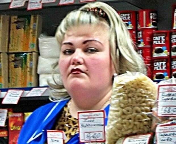 Продавщицы из продуктовых, которые сведут вас с ума девушки, женщины, магазин, покупки, прикол, продавец, продукты, юмор