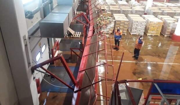 При обрушении надземного перехода в подмосковном Ступино пострадали 25 человек