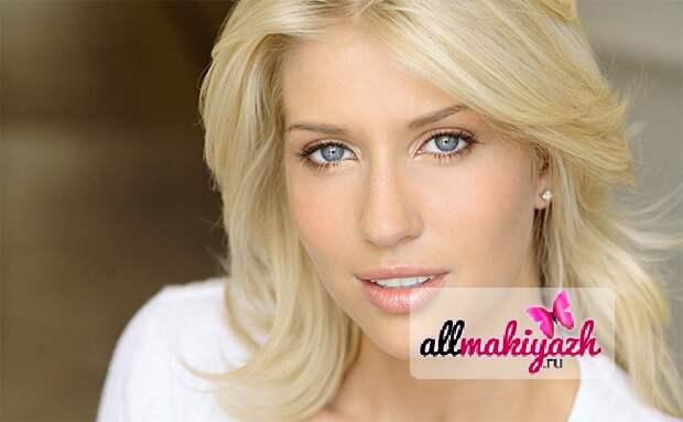 1 Дневной макияж для блондинок или как выглядеть хрупкой и нежной