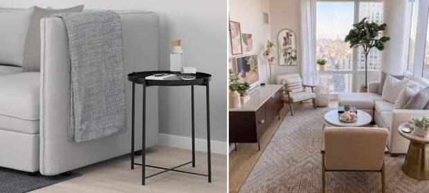 Маленькая мебель для маленьких квартир