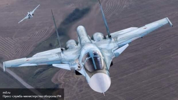 Пентагон беспокоит наличие у Су-34 в Сирии ракет«воздух-воздух»