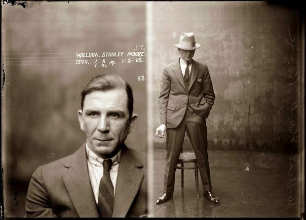 Портреты преступников 1910-1930-х годов