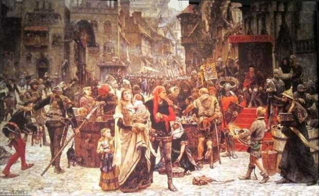 Как развлекались в Средние века