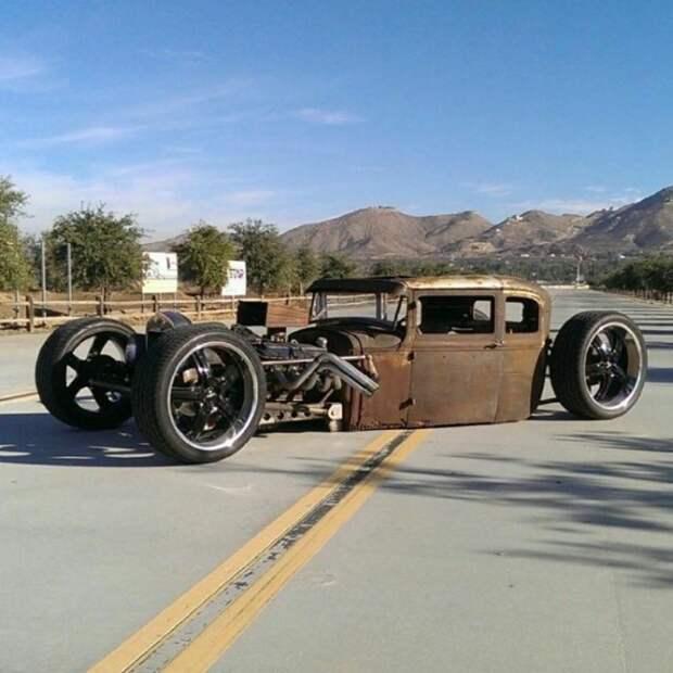Рэт-роды, которые так и просятся в мир «Безумного Макса» автомобили, классика авто, ретро авто, рэт-род, старые авто