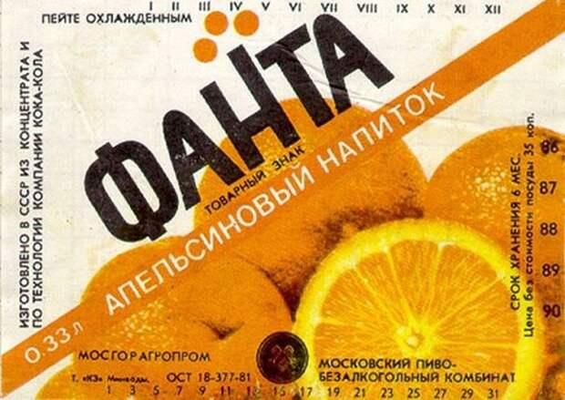 Советские лимонады