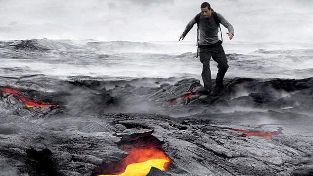 Подвиг №6: спуск в жерло действующего вулкана беар гриллс, выживание, подвиг, природа