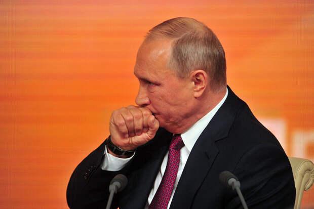 Путин близко контактировал с заражённым коронавирусом