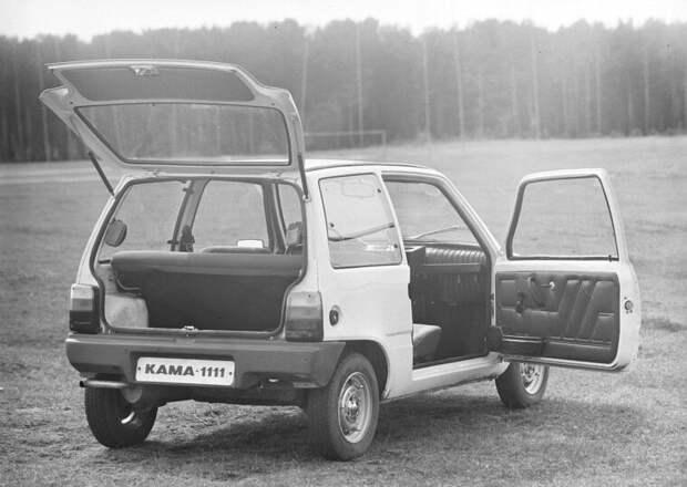 ОКА — микролитражка «КАМАЗа». История одного автомобиля камаз, легковые автомобили, малолитражка, микролитражка, ока, советский автопром
