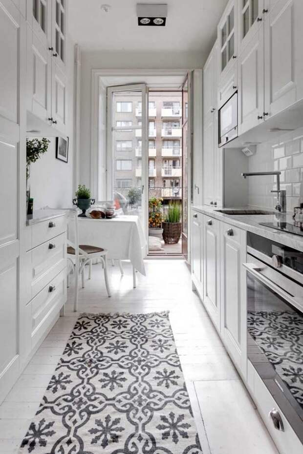 Уютная атмосфера солнечного Прованса на кухне без больших денежных вложений