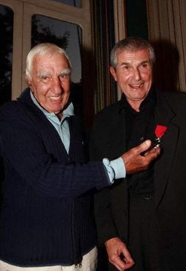 Шарль Жерар и Клод Лелуш, сентябрь 2008 года