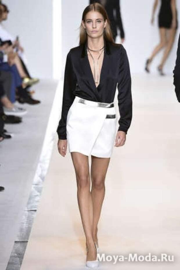 Модные юбки весна-лето 2015 Mugler