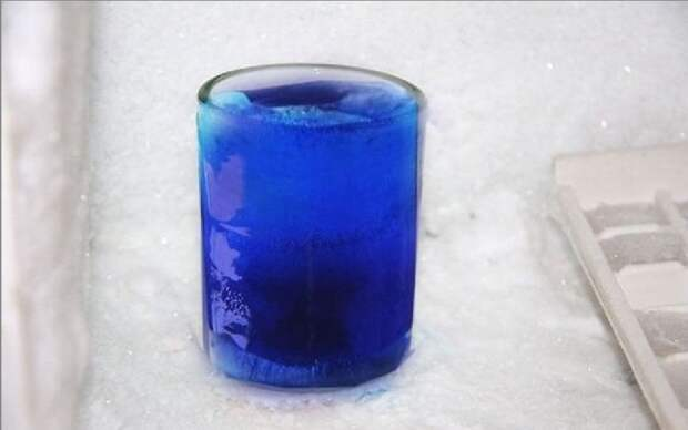 Ледяная рюмка (Diy)
