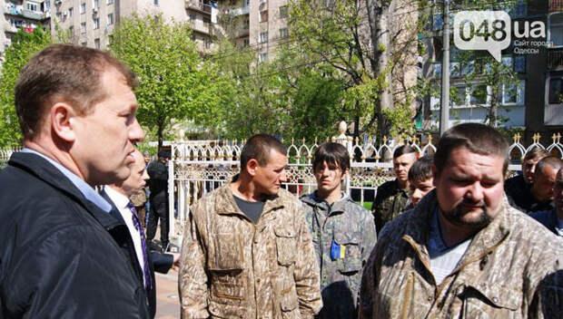Стрелявший по людям в Одессе сотник Микола умер в больнице от тяжелой болезни