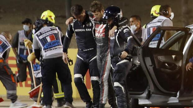 Попавший в серьёзную аварию гонщик «Формулы-1» поблагодарил болельщиков за поддержку