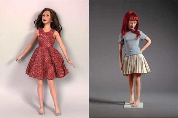 Куклы Бартлетта в музейных экспозициях.
