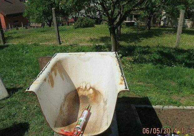 МАСТЕРИЛКА. Печь из старой ванны