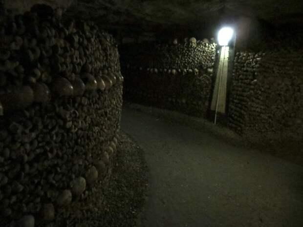 Подземные каменоломни Парижа