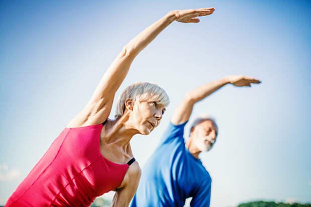 Для пенсионеров из Бабушкинского запустили курс занятий восстановительной гимнастики